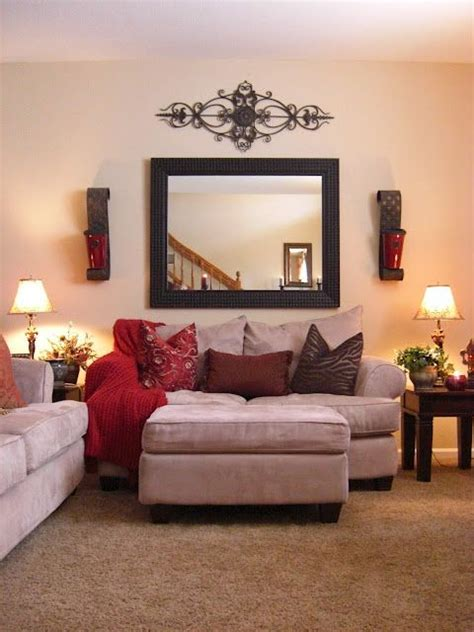 mirror wall decoration ideas living room i have that wrought iron that is over the window hobby
