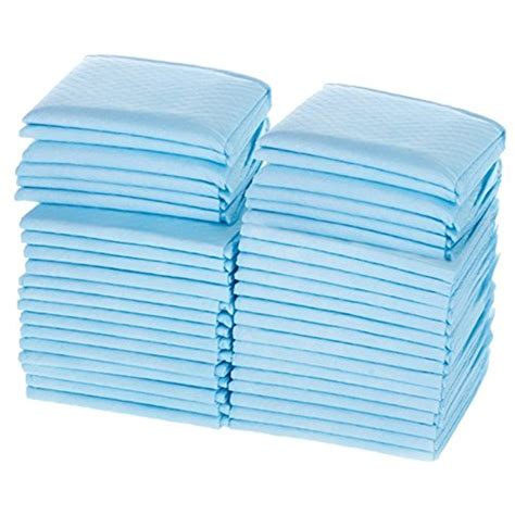 Medline Ultra Lightweight Tissue And Plastic 17 X 24 Disposable Changing Table Pads
