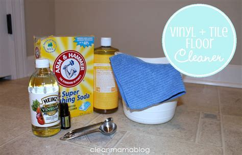 DIY Homemade Cleaners {Vinyl   Tile Cleaner}   Clean Mama