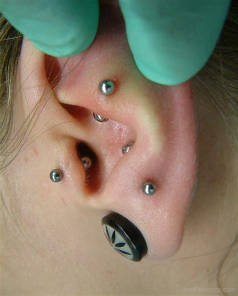 Anti Tragus Piercings And Piercing