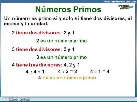 imprimir los 10 primeros numeros primos youtube m 218 ltiplos y divisores n 250 meros primos definici 243 n y