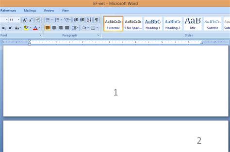 membuat nomor halaman bab tutorial membuat nomor bab dibawah halaman lain di atas