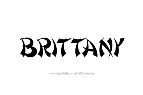 brittany tattoo collections