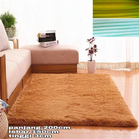 Harga Karpet Bulu Empuk karpet bulu jumbo empuk dan lembut uk 200x150x3cm elevenia