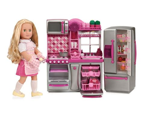 gourmet kitchen set our generation dolls american girl