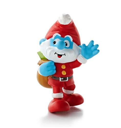 2013 papa smurf hallmark christmas ornament hooked on