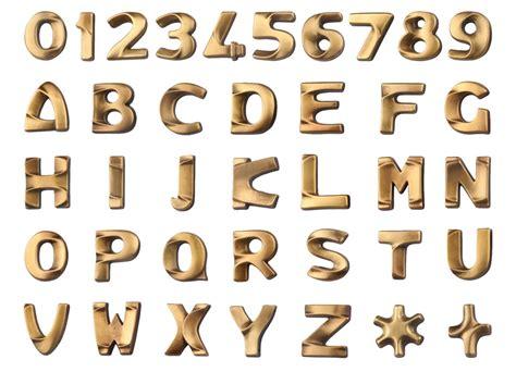 lettere d per lettere per lapidi italiano bronzo lucido real votiva