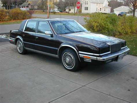 Chrysler New Yorker 1988 by 1988 Chrysler New Yorker Information And Photos Momentcar