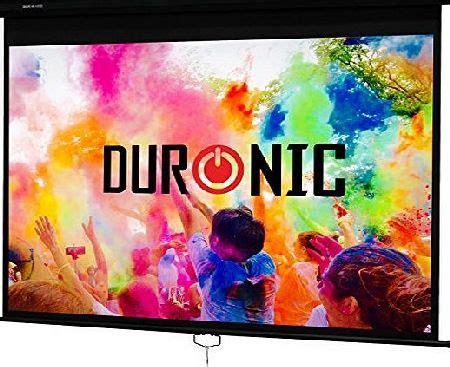Screenlayar Projector Manual 70 178 Cm X 178 Cm duronic projectors
