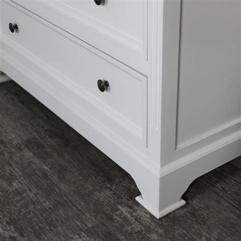 5 Drawer Chest Of Drawers White White Five Drawer Chest Of Drawers Daventry White Range Melody Maison 174