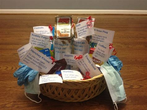 Gift Ideas For New Parents - new parents survival kit i made for baby shower got the