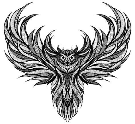 owl tattoo png the landyachtz tomahawk owl illustration pinterest