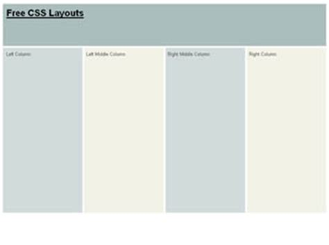 css layout one page css layout 166 free css layouts free css