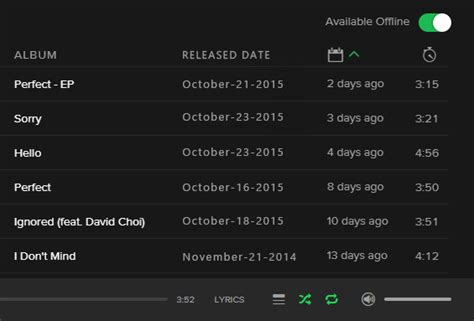 coloring book spotify release date playlists sort by release date the spotify community