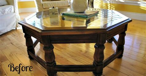 chalk painted coffee tables chalk paint coffee table transformation hometalk
