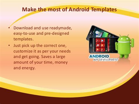 readymade templates for android app development in android why is it so popular
