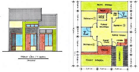 gambar denah rumah mungil minimalis desain rumah rumah minimalis kamar mandi