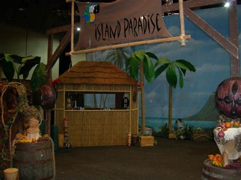 island themed home decor tiki and island themed decor vbs decorations pinterest