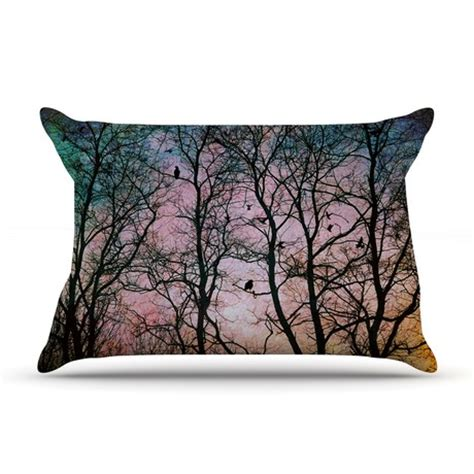 quot the birds quot fleece pillow standard 30 quot x 20