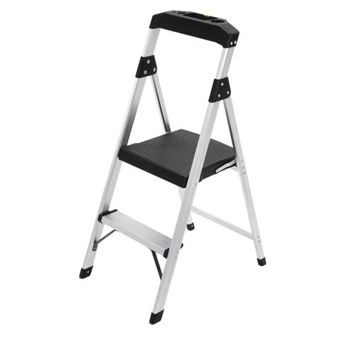 Detox Uses A Fan As Step Stool by Gorilla Ladders 2 Step Aluminum Step Stool Ladder With 225