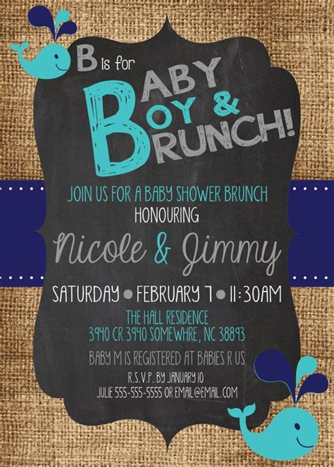 Can You Throw Your Own Baby Shower by Baby Shower Invitations Ideas For Boys Marialonghi
