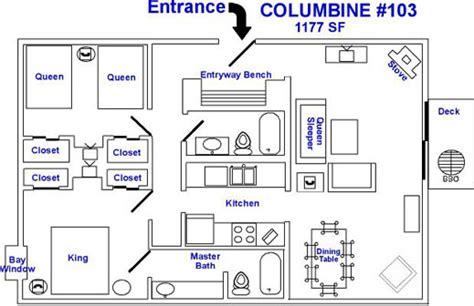 breckenridge lodging columbine ski condo rental