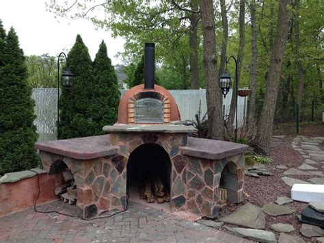 how to build a backyard brick oven brick pizza ovens brick oven grills n ovens