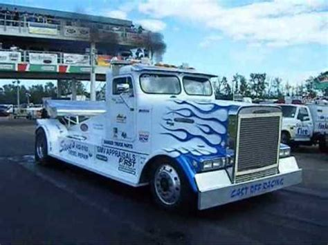 trucks drag racing semi truck drag racing