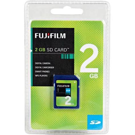 Memory Card Kamera Fujifilm fujifilm 2gb sd memory card 600005849 b h photo
