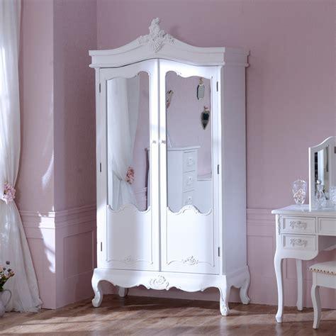 antique white mirrored wardrobe bedroom furniture