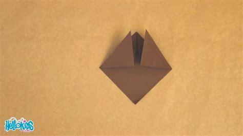 Origami Samurai Warrior - how to craft origami samurai helmet hellokids