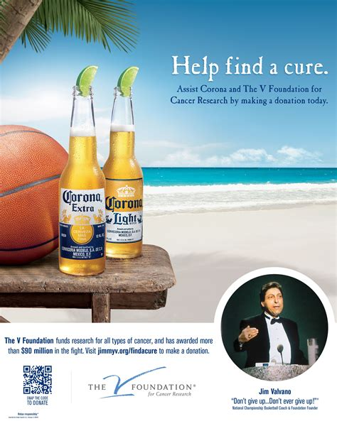 corona light vs extra corona supports cancer research with promo 02 09 2012