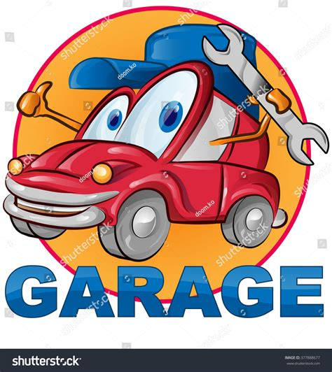 4 Car Garage Cartoon Auto Garage Car Pictures Car Canyon