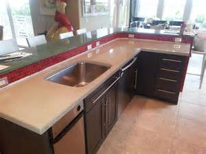 Concrete Countertops Atlanta Ga by Poured Concrete Countertops Foucaultdesign