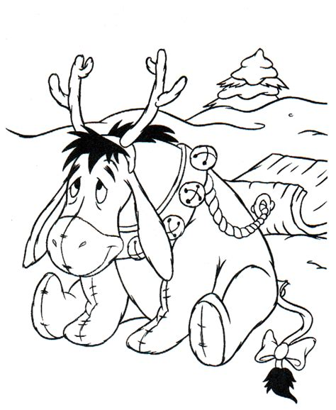 coloring pages of christmas reindeer coloring page christmas reindeer coloring pages 4