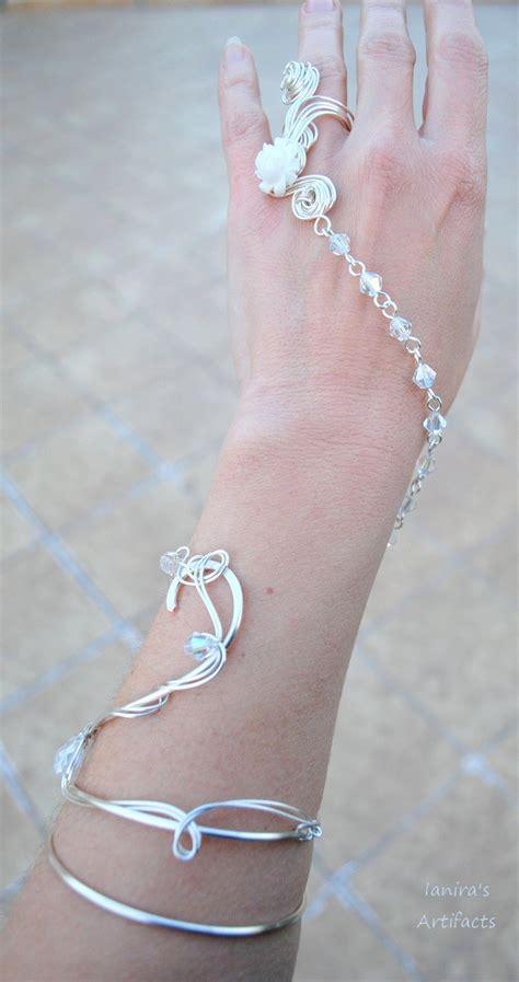 bridal wire bridal wire bracelet ring by ianirasartifacts on deviantart