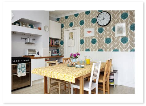 Orla Keily Kitchen by Orla Kiely Wallpaper In The Kitchen Home Design