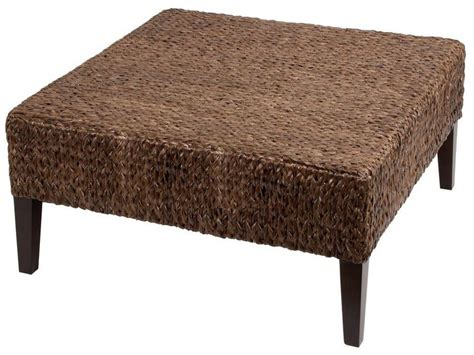 wicker coffee table ottoman rattan ottoman coffee table coffee table design ideas