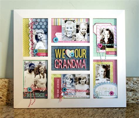 a cutie idea for a christmas picture fram s day frame collage a present and gifts for