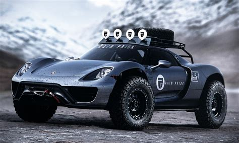 road porsche the offroad porsche 918 spyder cool material