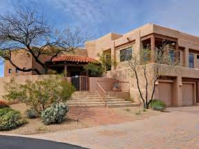 adobe style home united states arizona cozy southwest adobe style home