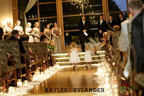 November Wedding Ideas by Everett Golf And Country Club Fall Wedding Stadium Flowers