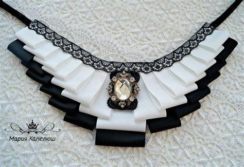 Anting Flower Pearl An284 ok ru kanzashi necklace collar