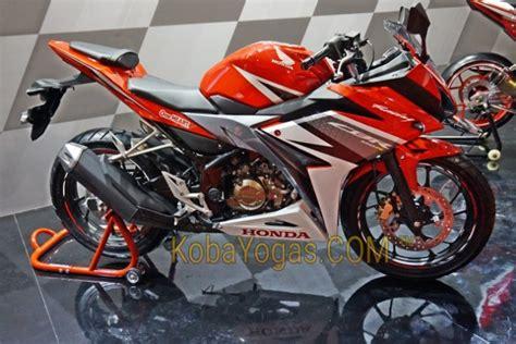Knalpot Wrm Honda Cbr 150r New Facelift galeri foto all new honda cbr150r warna merah racing