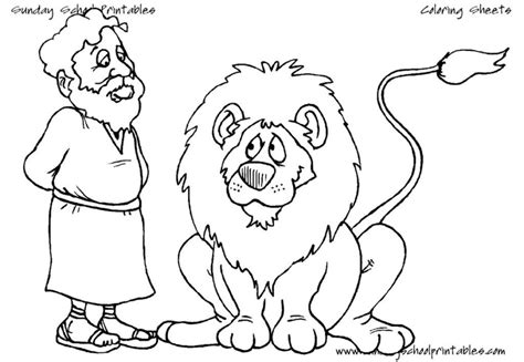 printable coloring pages daniel and the lions den daniel in the lion s den coloring pages free coloring