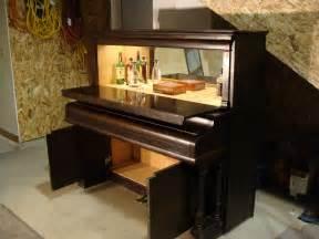 Baby Grand Piano Bookcase Old Piano Turned Into A Liquor Cabinet Pics