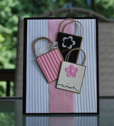 Hand Made Gift Cards - handmade greeting card gift card holder birthday card