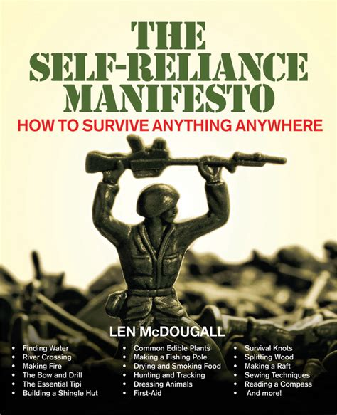 self reliance books bk187 the self reliance manifes