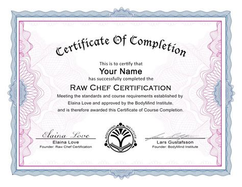 28 chef certificate template just another day the