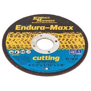 Cutting Wheels 4 X 2 X 16 Harga Bisa Dinegosiasi 4 1 2 x 1 16 x 7 8 endura maxx cut wheel kimball midwest